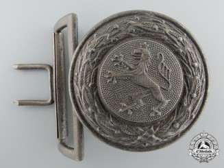 A German Province Hessen 1930's Firefighter's Officer's Buckle