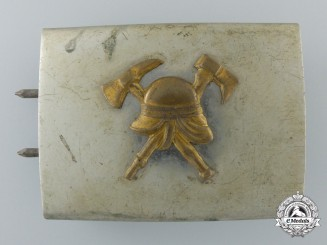 A Pre-1934 German Fire Defense Enlisted Buckle