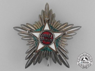 Morocco, French Protectorate. An Order of Ouissam Alaouite, First Class Star, by Arthus Bertrand, c.1925