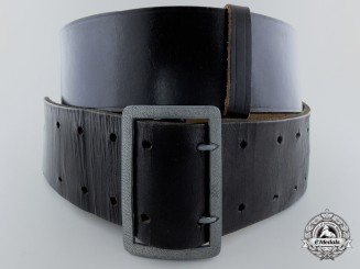 An Early German Officer's Black Belt