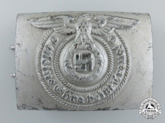 An SS-Enlisted Buckle; Unmarked