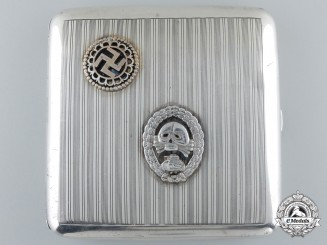 A Spanish Civil War Tanker's Cigarette Case