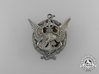 Poland. A Rare Balloon Observer Badge; 1st Class by L Olszewski
