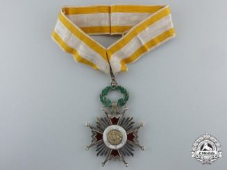 Spain, Republican Regime. An Order of Isabella the Catholic, Commander, c.1932