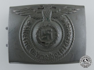 """A Waffen-SS Steel Buckle by """"RODO"""""""