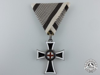 An Austrian Marian Cross