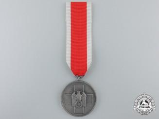 A German Social Welfare Medal; Silver Grade