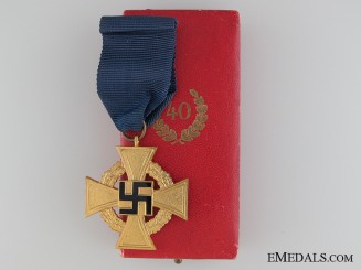 Faithful Service Cross - 2nd Class