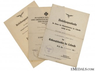 Fallschirmjäger Awards Documents