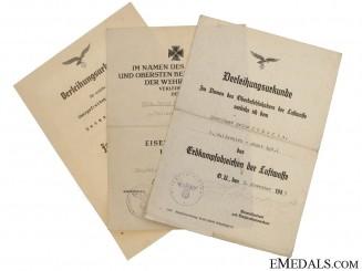 Fallschirmjäger Awards Documents
