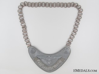 Feldgendarmerie (Army Military Field Police) Gorget