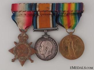 Frist War Trio to the Yorkshire Regiment