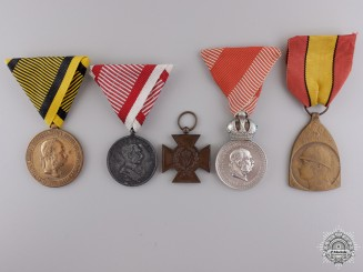 Five European Medals and Awards