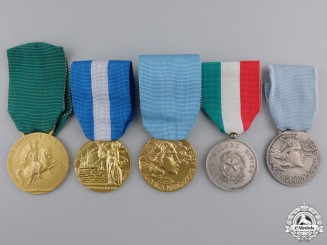 Italy, Republic. A Lot of Medals & Awards