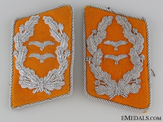 Flight Oberstleutnant's Collar Tabs