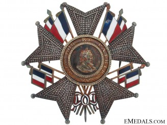 Legion DHonneur - Grand Cross Breast Star