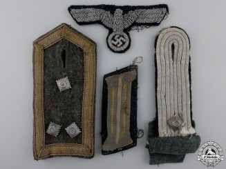 Four Cloth Items; Normandy Pick Up