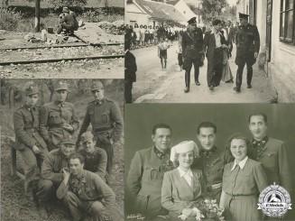 Four Croatian Second War Photos