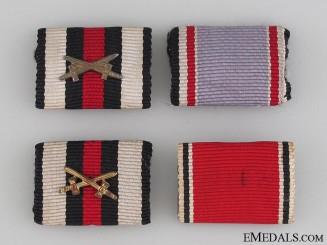 Four German Ribbon Bars