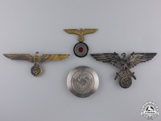 Four Second War German Badges & Insignia