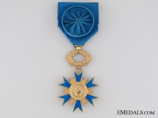 French National Order of Merit 1963, Officer