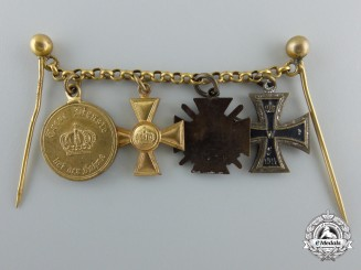 A First War Prussian Miniature Award Chain