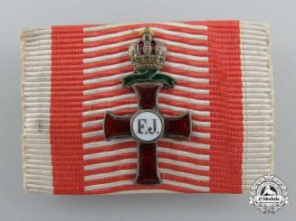 An Austrian Franz Joseph War Decoration Clasp