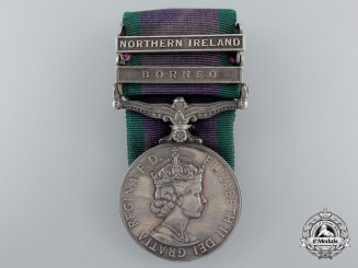 A General Service Medal 1962-2007 to Corporal Newman of the Special Air Service