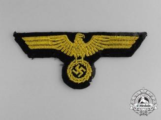 A Kriegsmarine EM/NCO's Breast Eagle
