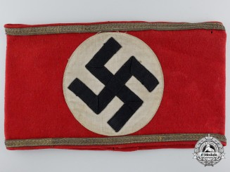 An NSDAP Early Political Sub Area Leader's Armband