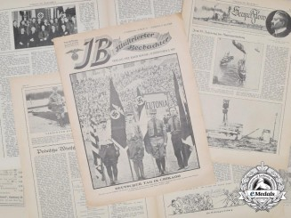 "A 1929 Issue of NSDAP Propaganda Newspaper ""Illustrierter Beobachter"""
