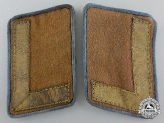 A Set of NSDAP Kreisleitung Stellenleiter's Collar Tabs