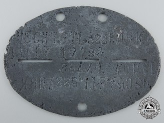 A Second War Turkestanisch Freiwilliger Bataillon Identification Tag