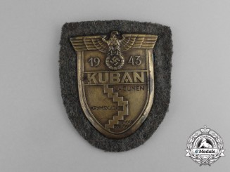 A Wehrmacht Heer (Army) Issue Kuban Campaign Shield