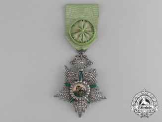 An Iranian Order of the Lion and the Sun; 4th Class Officer