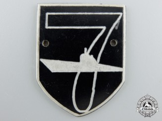 A Rare Second War U-Boat Crew Badge for U-137