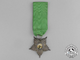 Iran, Pahlavi Empire Order of the Lion and the Sun, 5th Class Knight, c.1890