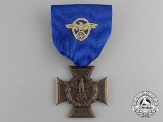 A Third Reich Period German Border Protection (Zollgrenzschutz) Long Service Award