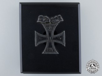 A First War Iron Cross Grand Cross Paper Weight