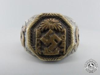 An Afrika Korps Ring