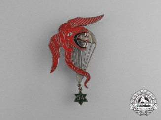 A French Indochina Second War Period Paratrooper's Badge