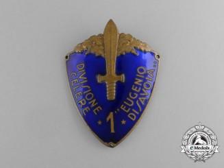 "An Italian 1st Division Rapid ""Eugene of Savoy"" Sleeve Badge"