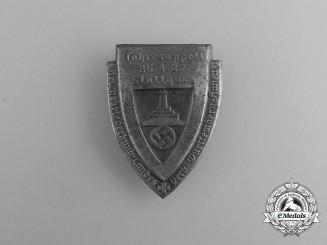 A 1937 Stuttgart Kyffhäuser Annual Meeting Badge
