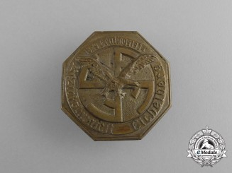 A 1934 Eichelberg District Gymnastics Festival Badge