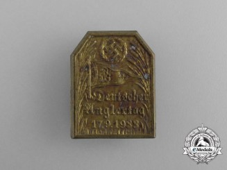 A 1933 German Day of Anglers Badge