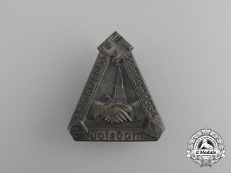 A 1934 One-Year Anniversary of NSDAP in Potsdam Badge