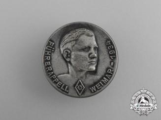 A 1934 HJ Weimar Führerappell Badge
