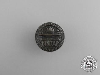 A NSDAP Region Hessen-Nassau Sacrifice Badge by Wiedmann of Frankfurt