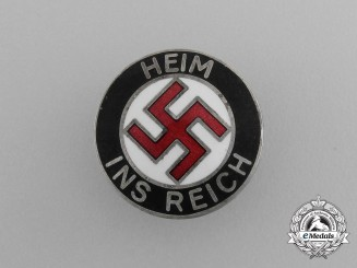 A Third Reich Period NSDAP Austrian Anschluss Supporters Badge