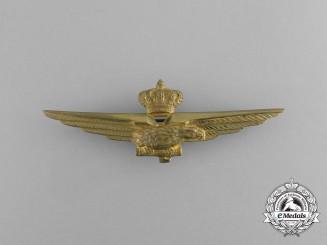 An Italian Second War Italian Fascist Pilot's Wings